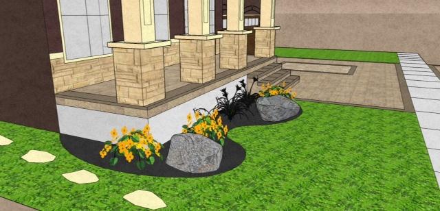 3d Landscape Interlocking Design Plan Services Davel