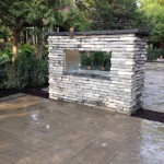 Outdoor Fireplace - Davel Construction
