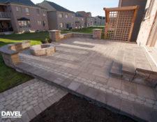 Interlocking Patios - Davel Construction