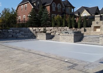 Natural stone pools