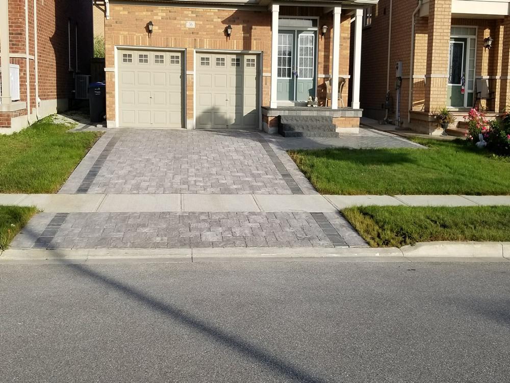 Upper Canada Court Driveway