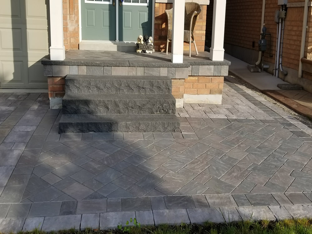 Upper Canada Court front entrance completion