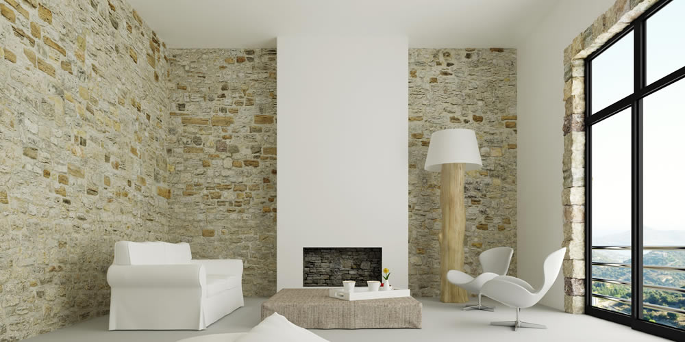 Stunning Stone Feature Wall