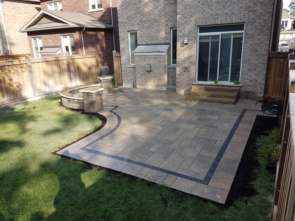 Upper Canada Ct. completed patio