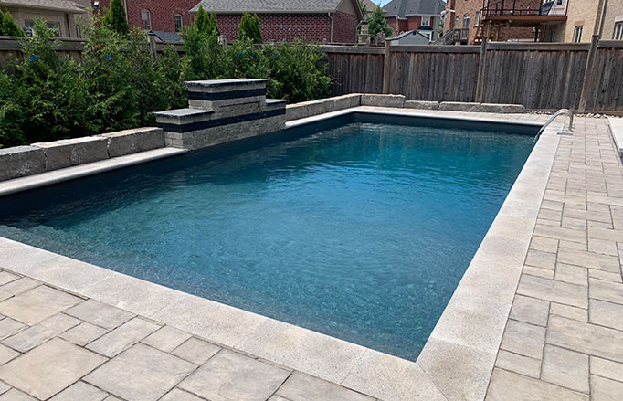 interlocking patios and pool surrounds